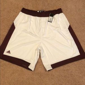 New with tags men's adidas athletic shorts